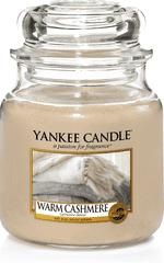 Yankee Candle Yankee gyertya WARM CASHMERE Közepes gyertya 411 g