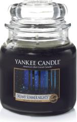 Yankee Candle Yankee gyertya DREAMY NYÁRI ÉJSZAKAI Közepes gyertya 411 g
