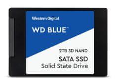 """Western Digital SSD disk SATA 3 2 TB BLUE 3D NAND 6,35 (2,5"""") (WDS200T2B0A)"""