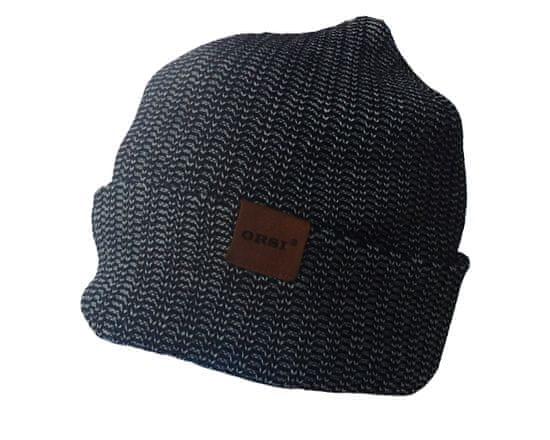 ORSI Zimní čepice černá/šedá