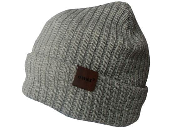 ORSI Zimní čepice světle šedá