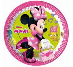 """GoDan Plošče za enkratno uporabo EKO """"Minnie Mouse - Happy Helpers"""" 23 cm - 8 pcs"""