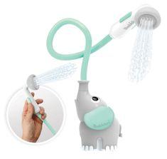 Yookidoo Detská sprcha slon - sivotyrkysová