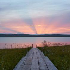 Vaše radost Fotoobraz na plátně Západ slunce na Sibiři