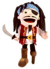 Fiesta Crafts Pirat velika lutka s otvorenim ustima
