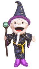 Fiesta Crafts Čarobnjak velika lutka s otvorenim ustima