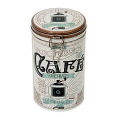 """Natives Vintage Dóza na kávu """"Mister Capone"""" D10,8 x H19,5 cm, plech, 801190"""