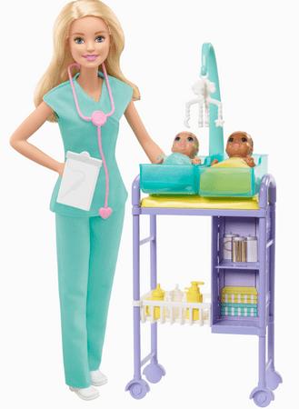 Mattel dječja liječnica, s dodacima