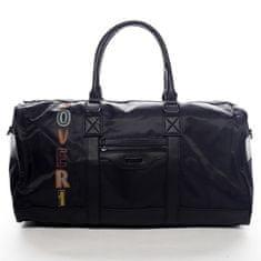 Coveri WORLD Sportovní velká taška na cestování či sport Ellie černá