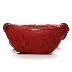 DIANA & CO Moderní dámská ledvinka Esme, červená