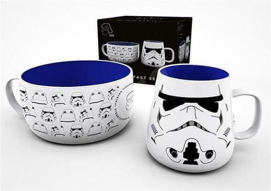 Snídaňový set Star Wars - Helmet
