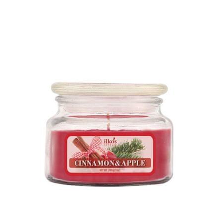 Ilkos dišeča sveča, Apple & Cinnamon, majhna