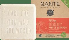 SANTE Naturkosmetik Hydratačný tuhý šampón BIO mango a aloe - 60g