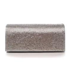 Michelle Moon Plesová kabelka Brianna, stříbrná
