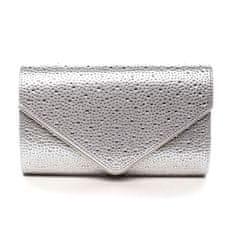 Michelle Moon Dámská plesová kabelka Scarlett, stříbrná