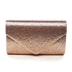 Michelle Moon Dámská plesová kabelka Scarlett, růžově zlatá