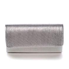 Michelle Moon Dámská společenská kabelka Chantelle, stříbrná