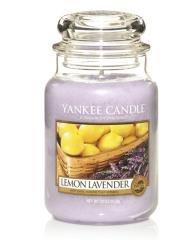 Yankee Candle LEMON LAVENDER Velká svíčka 623 g