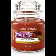 Yankee Candle Yankee gyertya VIBRANT SAFFRON Kis gyertya 104 g
