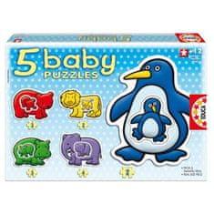 EDUCA Detské puzzle zvieratká