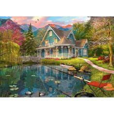 Schmidt Puzzle 1000 Lakeside retirement home