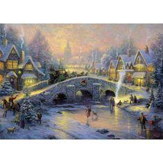 Schmidt Puzzle 1000 Zimná dedina