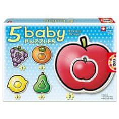 EDUCA Detské puzzle ovocie