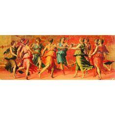 EDUCA Puzzle 1000 G.Romano, Tanec Apolóna s múzami