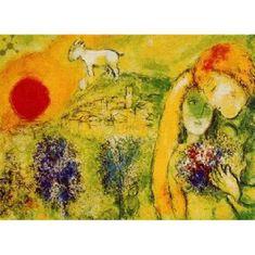 Editions Ricordi Puzzle 500 Chagall, Milenci