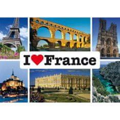 Schmidt Puzzle 1000 I love France