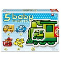 EDUCA Detské puzzle doprava