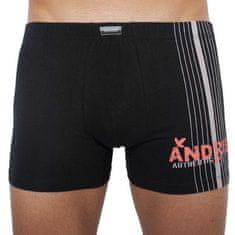 Andrie Pánske boxerky čierne (PS 5048 B)