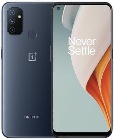OnePlus Nord N100 (BE2013) mobilni telefon, 4GB/64GB, Midnight Frost