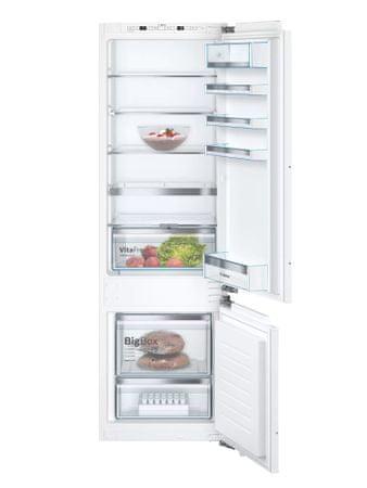 Bosch KIS87AFE0 hladilnik, kombinirani, vgradni