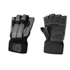 Spartan Guard fitnes rokavice, črno-sive