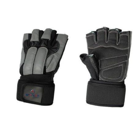 Spartan Guard fitnes rokavice, črno-sive, M