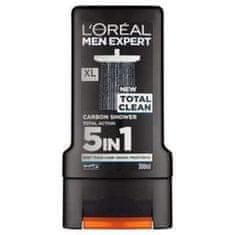 Loreal Paris Men Expert Total Clean gel za prhanje, 300 ml