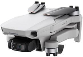 Dron DDJI Mini 2, vysoká rýchlosť, bezpečný let, detekcie prekážok, zabezpečenie