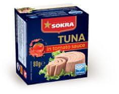 SOKRA Tuniak v paradajkovej omáčke 80 g