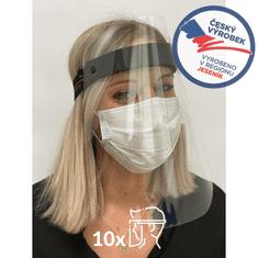 CLEANLIFE Ochranný obličejový štít - balení 10 ks