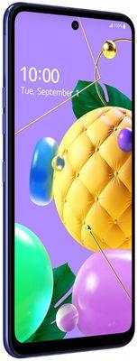mobilný telefón LG K52, 4GB/64GB, Gray 4 fotoaparáty 48 mpx 5 mpx 2 mpx 2 mpx 8mpx predný fotoaparát operačný systém android batéria s kapacitou 4000 mah MediaTek procesor 64 gb vnútorná pamäť 4 gb ram ips displej dotykový nfc Bluetooth 5.0 duálny wifi čítačka odtlačkov prstov