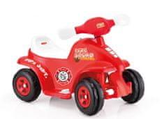 DOLU vozilo Vatrogasno vozilo ATV, crveni, 6V