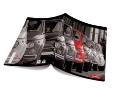 Target bilježnica Red Collection, A4, karo, 10 komada (21638)