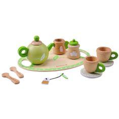 EverEarth drveni set za čajanke