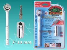 Gator Univerzální klíč Gator Grip ETC-200, 7-19 mm, sada s ráčnou