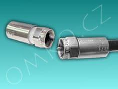Cabelcon Profesionální vodotěsný lisovací konektor F-56-CX3 3,7 (5mm)