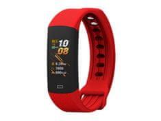 Wendy Chytré hodinky Wendy H01, zdravotní funkce, aplikace pro iOS i Android, červená