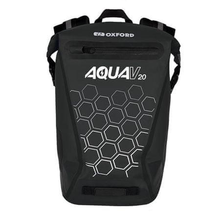 Oxford ruksak Aqua V20, crni (OL695)