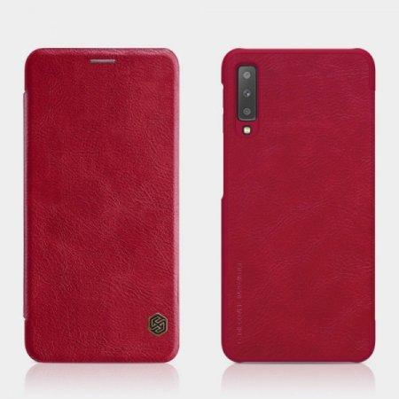 Nillkin Qin ovitek za Samsung Galaxy S20 Plus G985, preklopni, rdeč