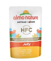 Almo Nature HFC Jelly kuracie prsia v želé 24x55 g